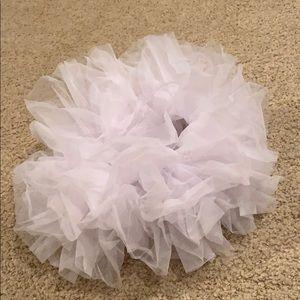 One size fits all tutu (WHITE)